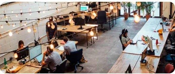 net2phone segmentos - Tecnología y Coworking